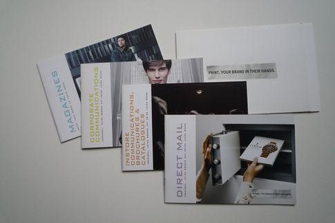 Cepifine paper campaign incl. brochures & adverts