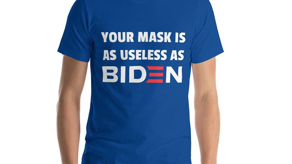 Mask & Biden Useless Shirt
