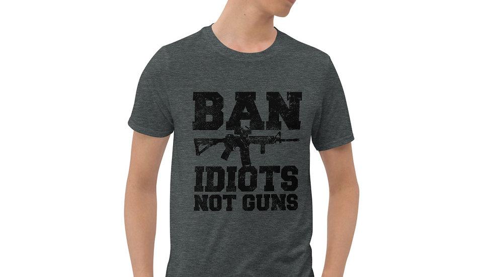 Idiots Not Guns T-Shirt