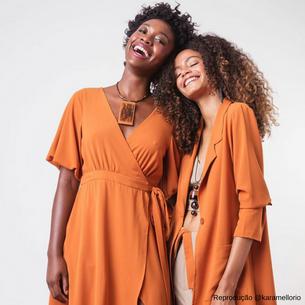 Modelos negras estrelam nova coleção da Karamello