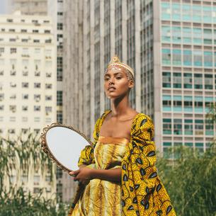 Um editorial cheio de africanidade