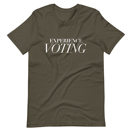 GREEN EXPERIENCE VOTING TEE