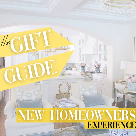 The Gift Guide for New Homeowners