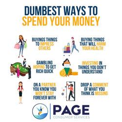 Dumbest Ways To Spend Your Money