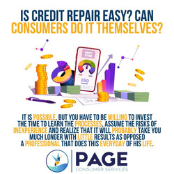 Is Credit Repair Easy? Can Consumers Do It Themselves?