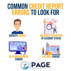 Common Credit Report Errors to Look For