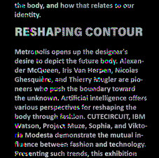 RESHAPING CONTOUR