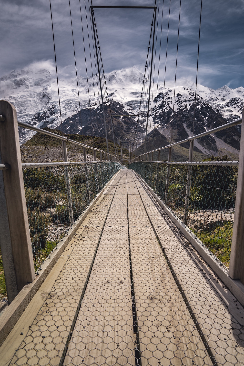Suspension Bridge, Hooker Valley Track