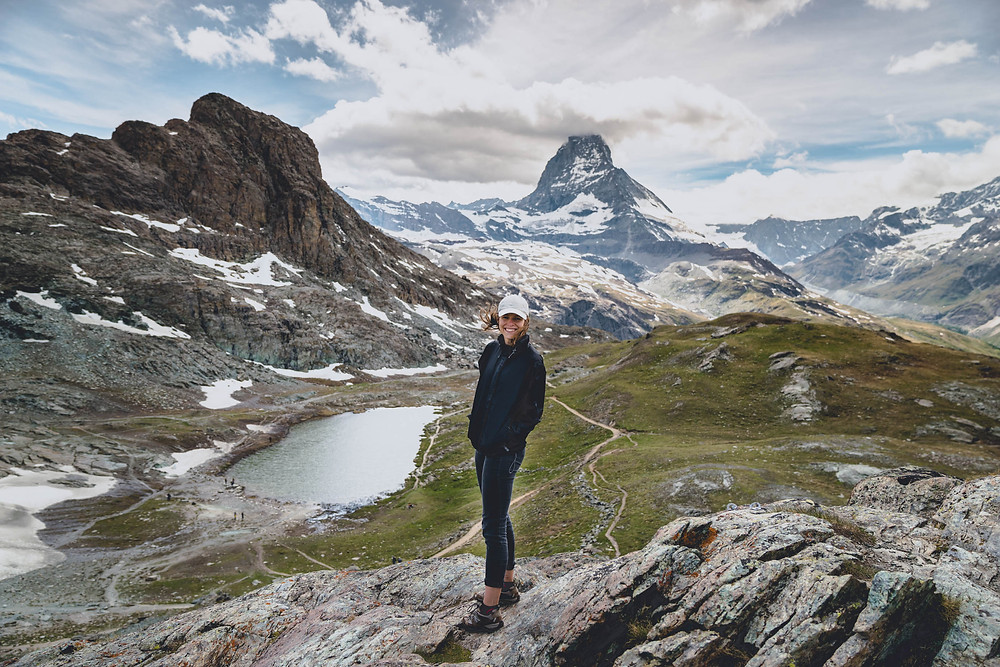 Hiking up to Gornegrat in Zermatt