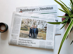 Hamburger Abendblatt Article and Cover Feature about Traceless