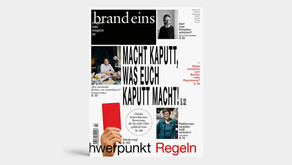 Brand Eins Magazine Article about Traceless
