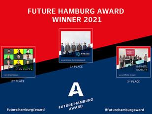 Traceless wins Future Hamburg Award 2nd place