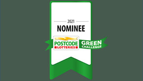 Nomination for Postcode Lotteries Green Challenge 2021