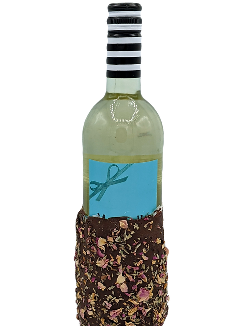 Chocolate Covered Wine Bottle