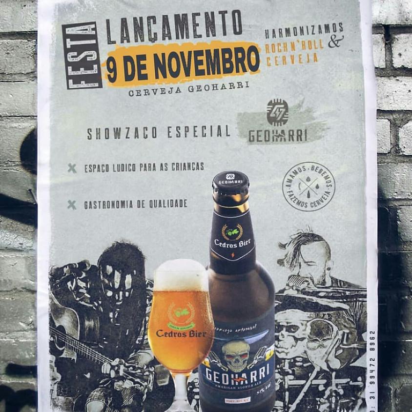 Lançamento Cerveja Geoharri Cedros Bier em Nova Lima