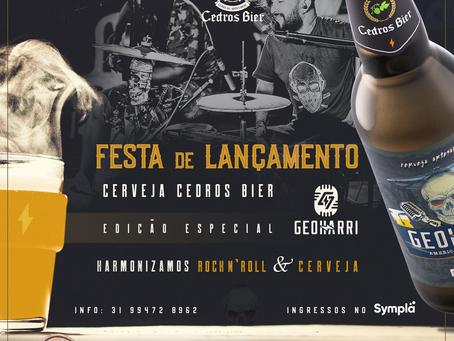 Lançamento da cerveja  Cedros Bier Geoharri! 07 de Setembro 2019 - 18:00