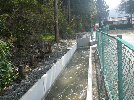 県営かんがい排水事業 春富6号地区 水路その2工事  伊那市東春近 車屋