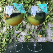 Ce matin, petit jus : orange kiwi spirul