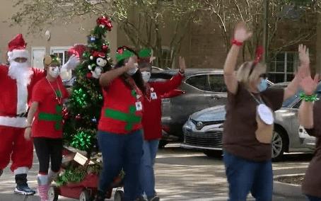 Holiday Cheer Drive-By Parade