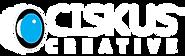 Ciskus Creative Logo White 2.png