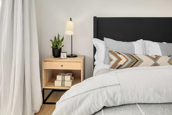 Boho master bedroom