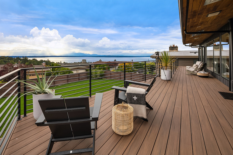 Deck with view