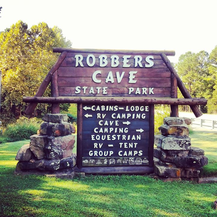 Robbers Cave Oklahoma
