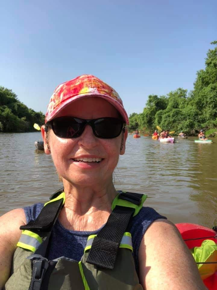 Kayaking Lake Overholser Oklahoma