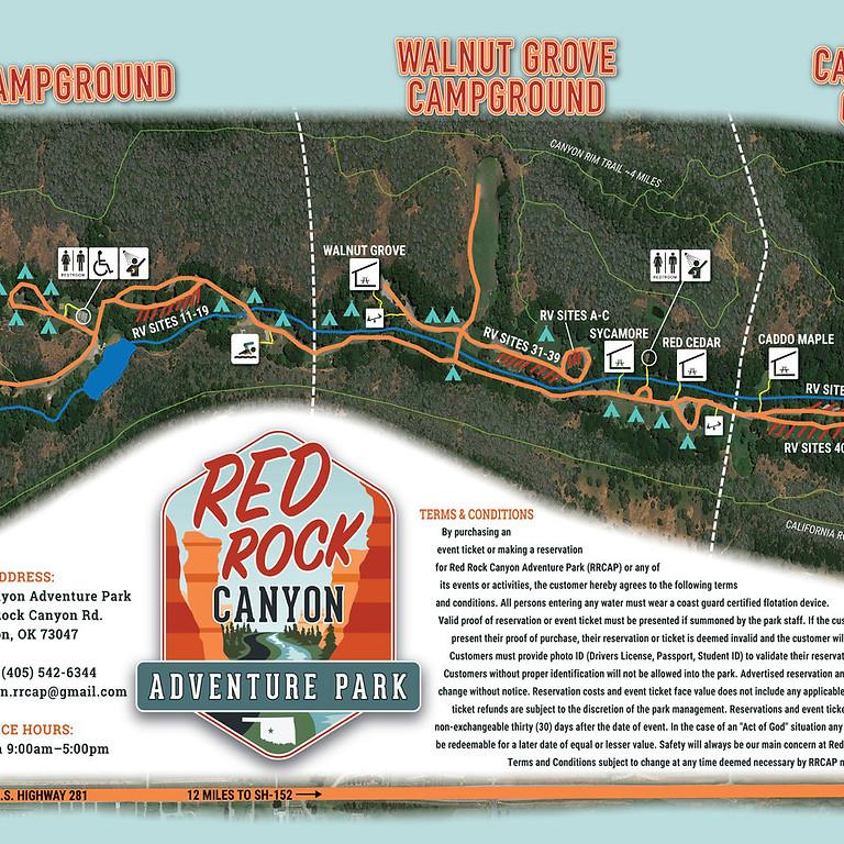 OKLAHOMA - Red Rock Canyon Adventure Park
