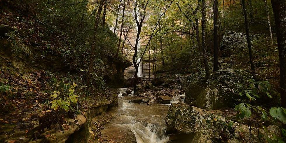 Arkansas Hike Led by Vicki Bogard