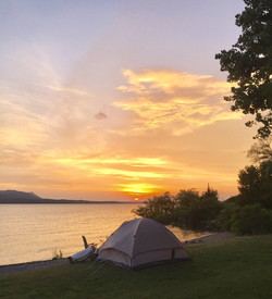 Camping at Wichita Mountains
