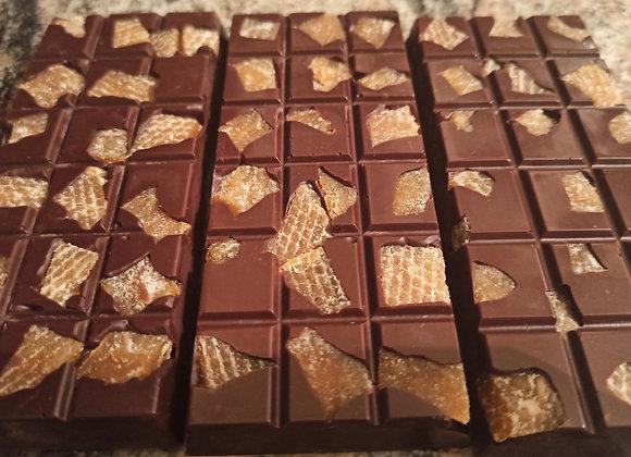 Chocolate barra MONJOLO 70% Cacau com Cupuaçu - sem Lactose