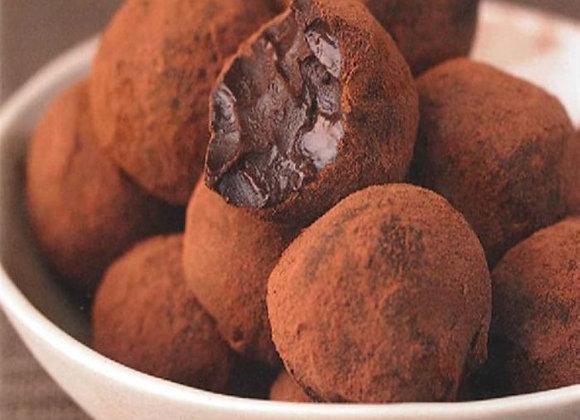 Trufas de Chocolate meio amargo MONJOLO