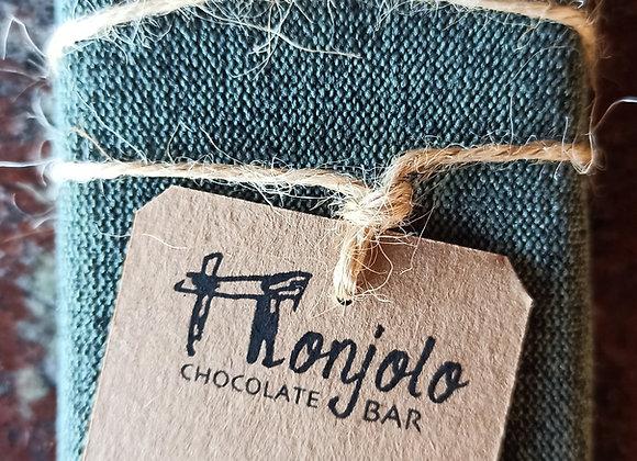 Chocolate barra MONJOLO 85% Cacau - sem Lactose - Com açúcar de Coco