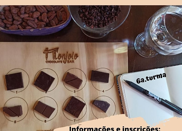 DEGUSTAÇÃO ONLINE DE CHOCOLATES