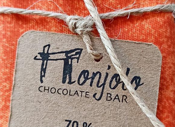 Chocolate barra MONJOLO 70% com Inclusão - Orgânico e sem Lactose