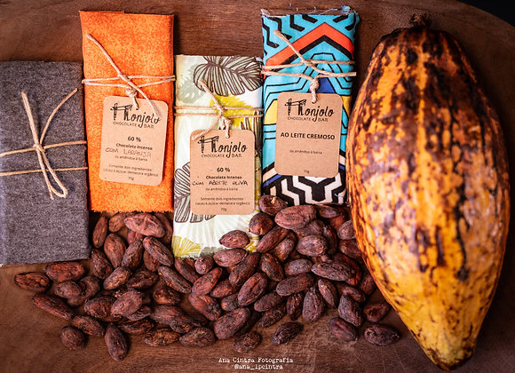 Kit Chocolates MONJOLO - Orgânico