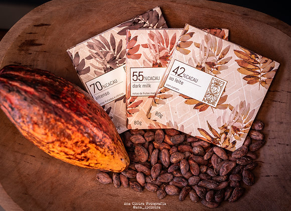 Chocolates barra AMBAR