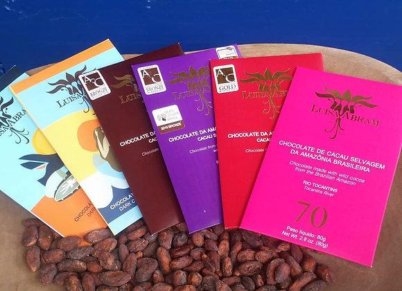 Chocolates barra LUISA ABRAM