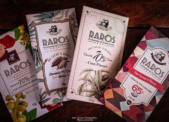 Chocolates barra RAROS