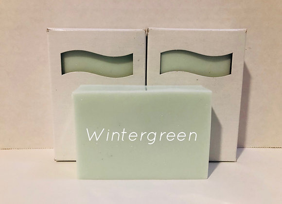 Wintergreen Shea Butter Soap