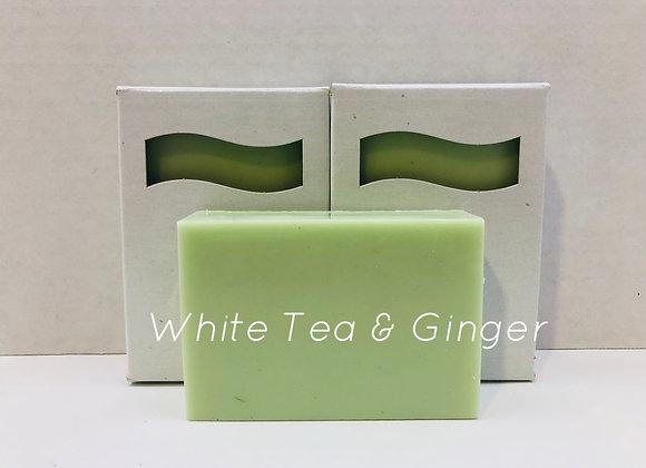 White Tea & Ginger Shea Butter Soap