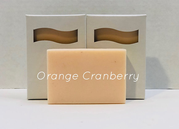 Orange Cranberry Shea Butter Soap