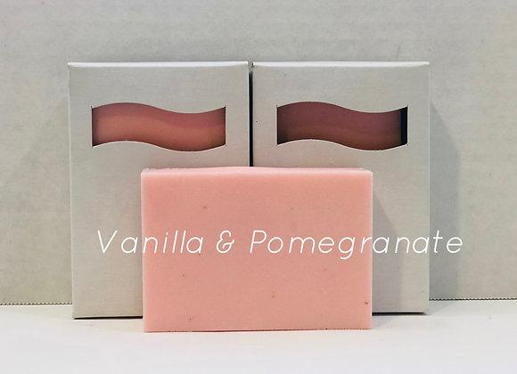 Vanilla Pomegranate Shea Butter Soap