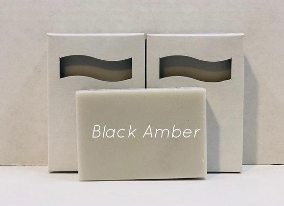 Black Amber Shea Butter Soap