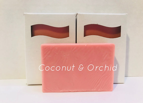 Coconut & Orchid Shea Butter Soap