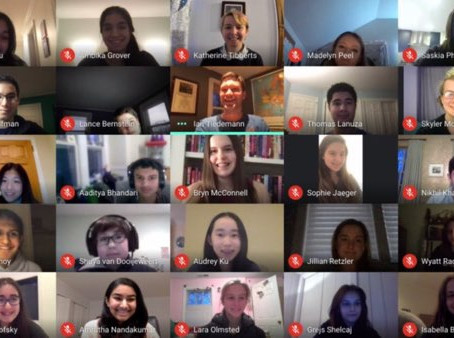 GHS Model UN Team is Victorious in Virtual Conference