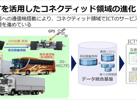車両稼働情報を活用したサービス化の取組