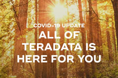 テラデータの新型コロナウイルス感染症(COVID-19)に対する取り組み