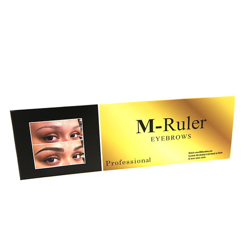 M Ruler for Eyebrows